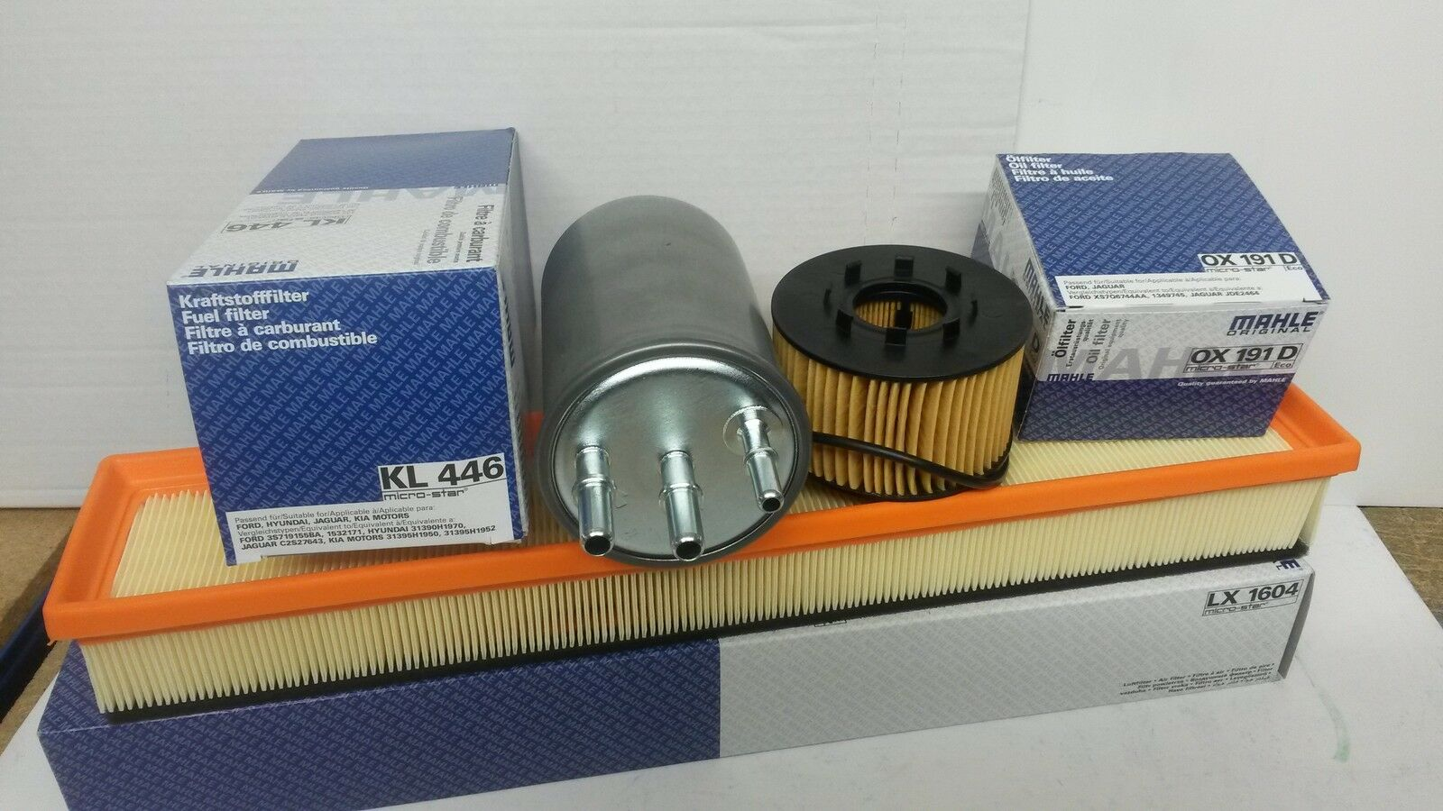 Jaguar X Type 20 22 Diesel Mahle Oil Air Fuel Filter Service Kit 2003 Ford 1 Of 1free Shipping See More