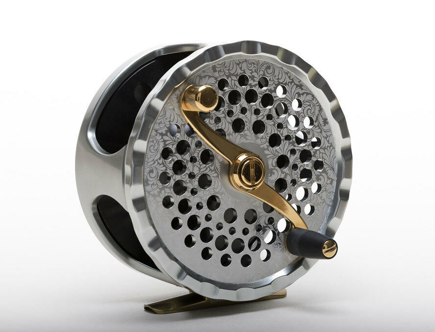 Bickersteth classic 2 9 11wt salmon fly reel for Salmon fishing reels