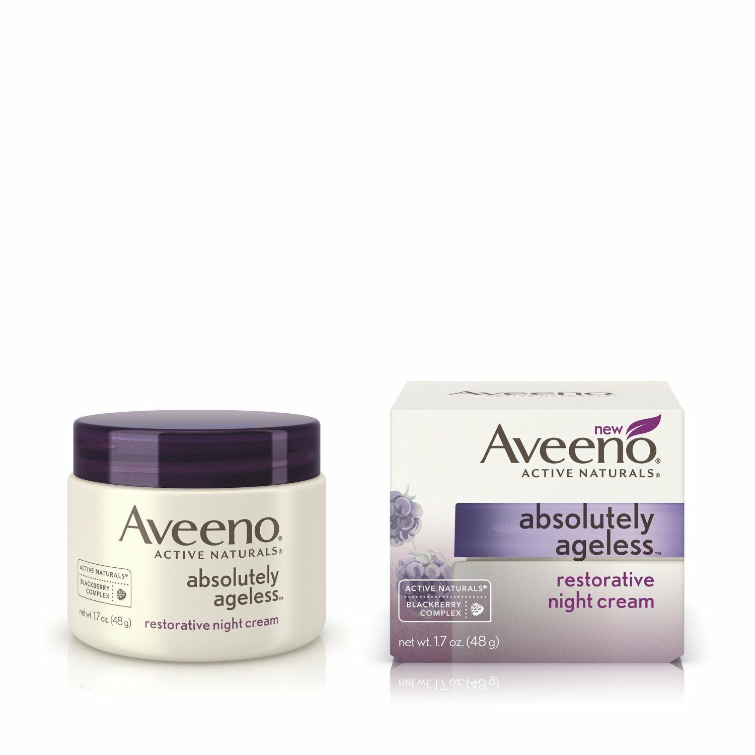 Aveeno Absolutely Ageless, Restorative Night Cream, 1.7 Ounce • $23.63