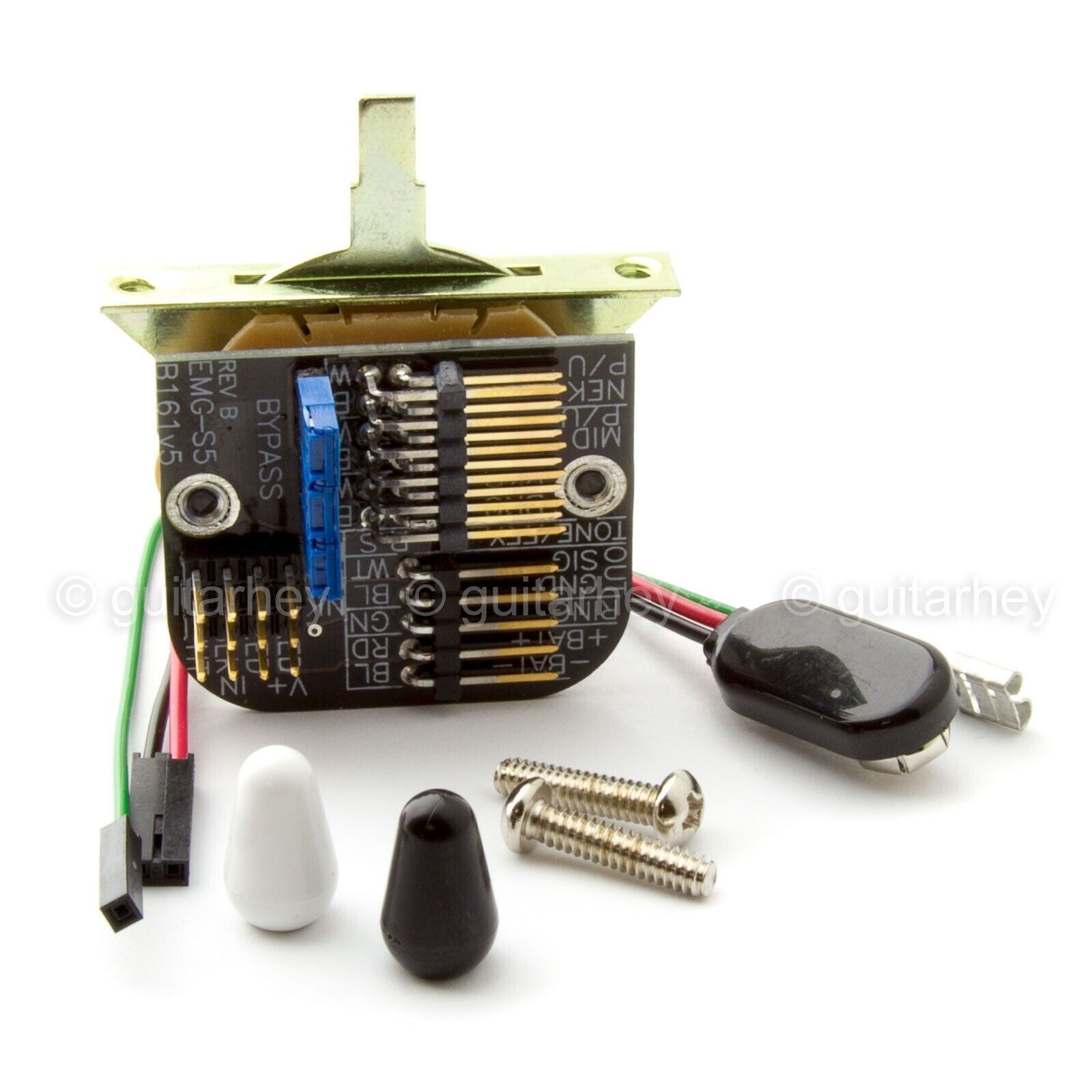 New Emg 5 Position Strat Switch Solderless Way For Active Pickups Details About Pickup J Pj Bass Style Complete Wiring Kit 1 Of 5free Shipping