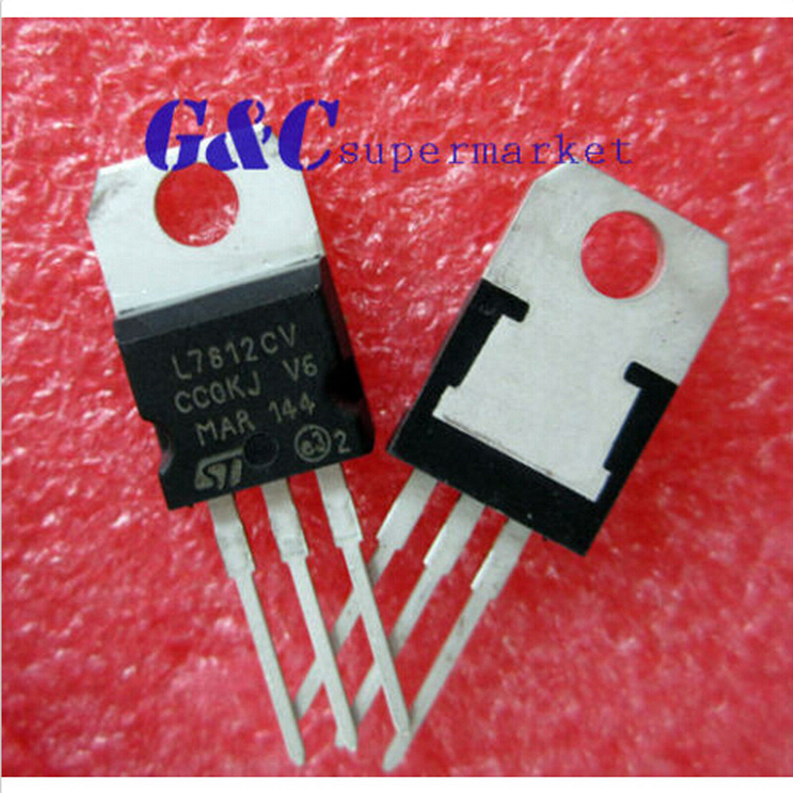 Ic L7812cv To 220 Voltage Regulator 12v New Good Quality T27 099 7812 Circuit 1 Of See More