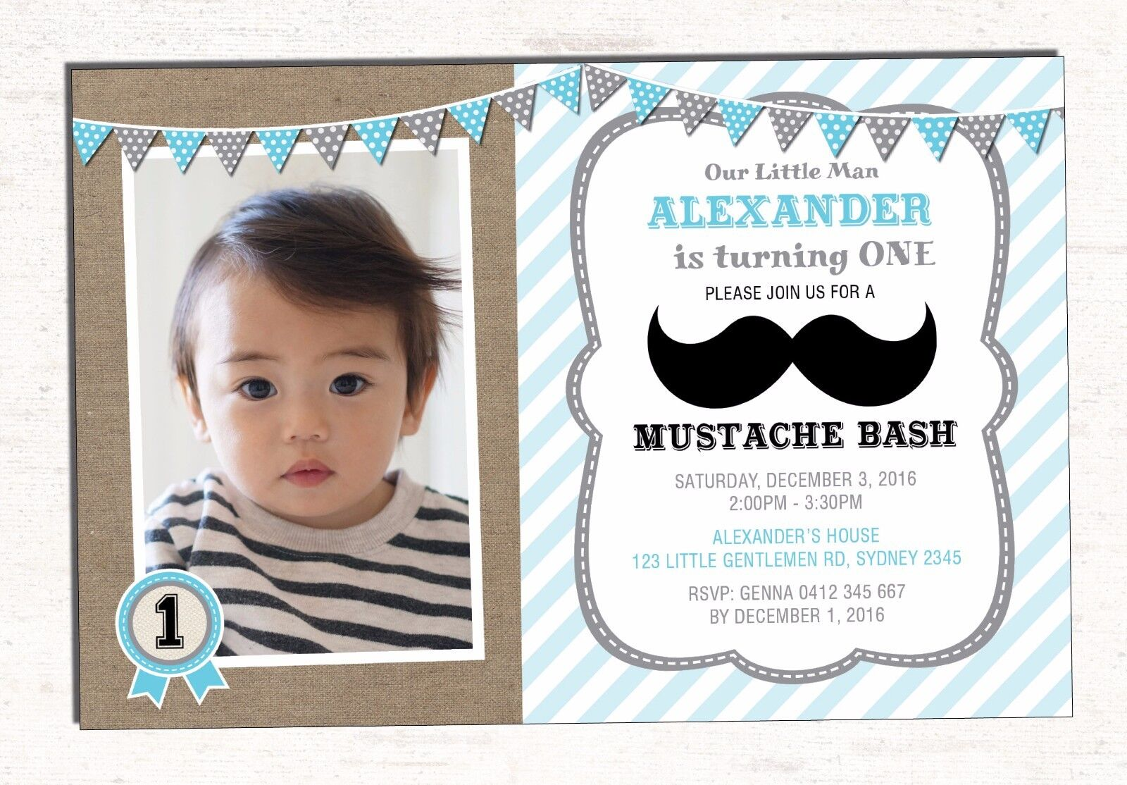 Little man first birthday invitation moustache party bash bowtie little man first birthday invitation moustache party bash bowtie invite 1 of 1free shipping filmwisefo