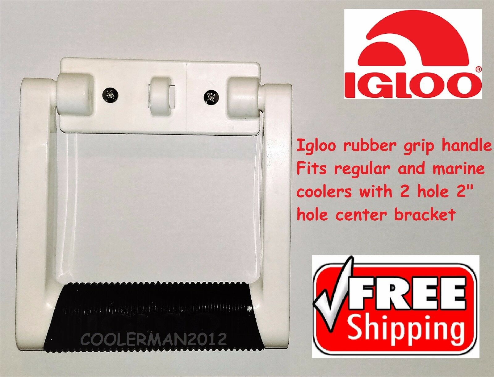 igloo rubber grip 9647rg genuine cooler parts replacement handle igl