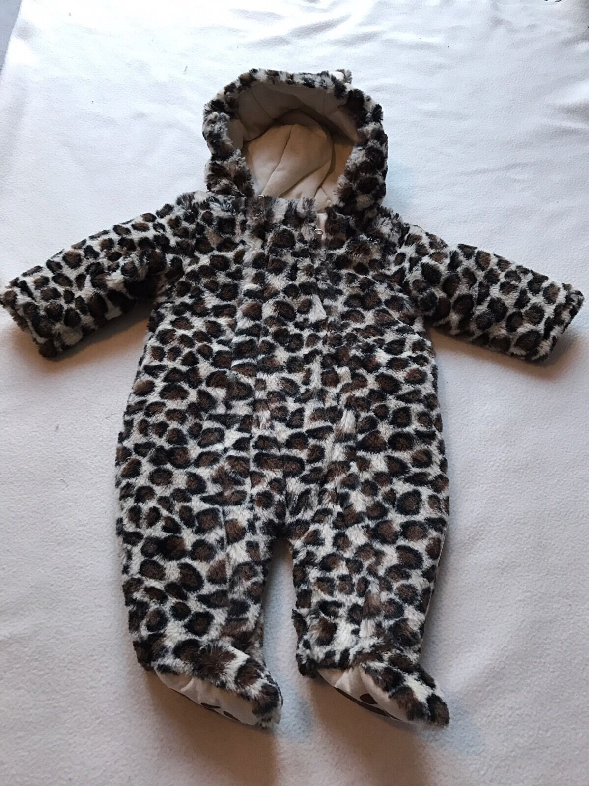 Leopard Print Baby Snowsuit Animal Snowsuit With Ears Cute Snowsuits. A leopard print baby grow for your mini wild one, Perfect teamed up with any of our animal print range, ️FREE gift wrap on ️ FREE UK P&P Industries Needs — Apparel & Accessories Baby Boys- Jackets & Coats –.