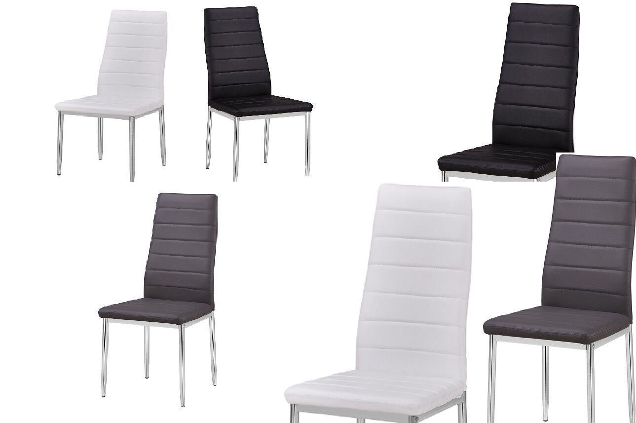Modern Elegant Side Chairs Upholstered Armless Dining Living Kitchen Chair  1 Of 2FREE Shipping ...