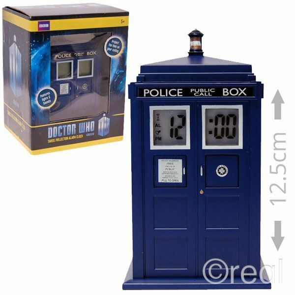 New doctor who tardis projection alarm clock electronic sfx bedroom official eur 23 44 - Tardis alarm clock ...