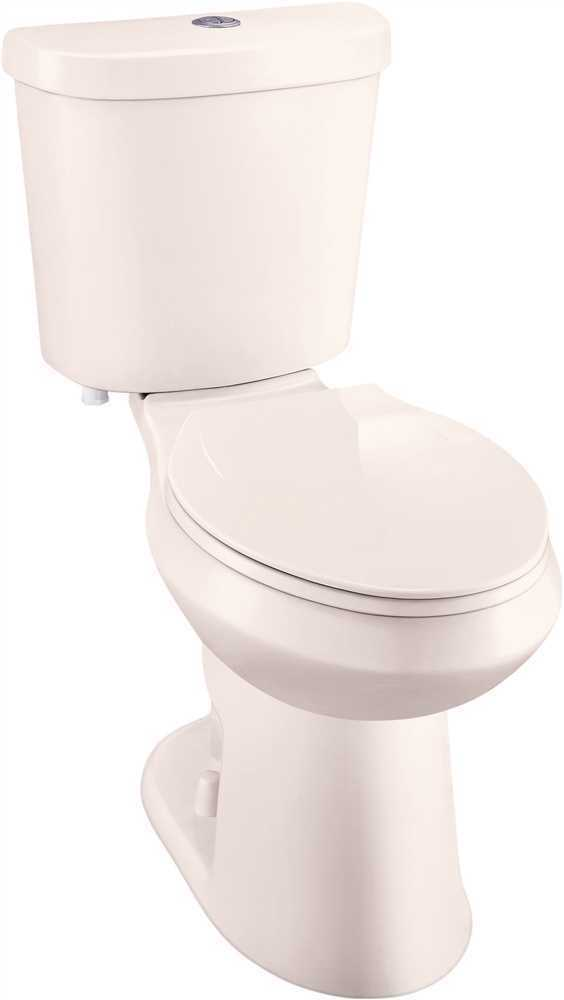Premier Select 2 Piece Comfort Height Dual Flush Round Bowl Toilet W Seat 1 Of