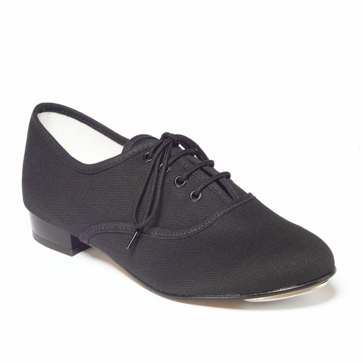 b0ys mens black oxford canvas tap shoes toe taps fitted