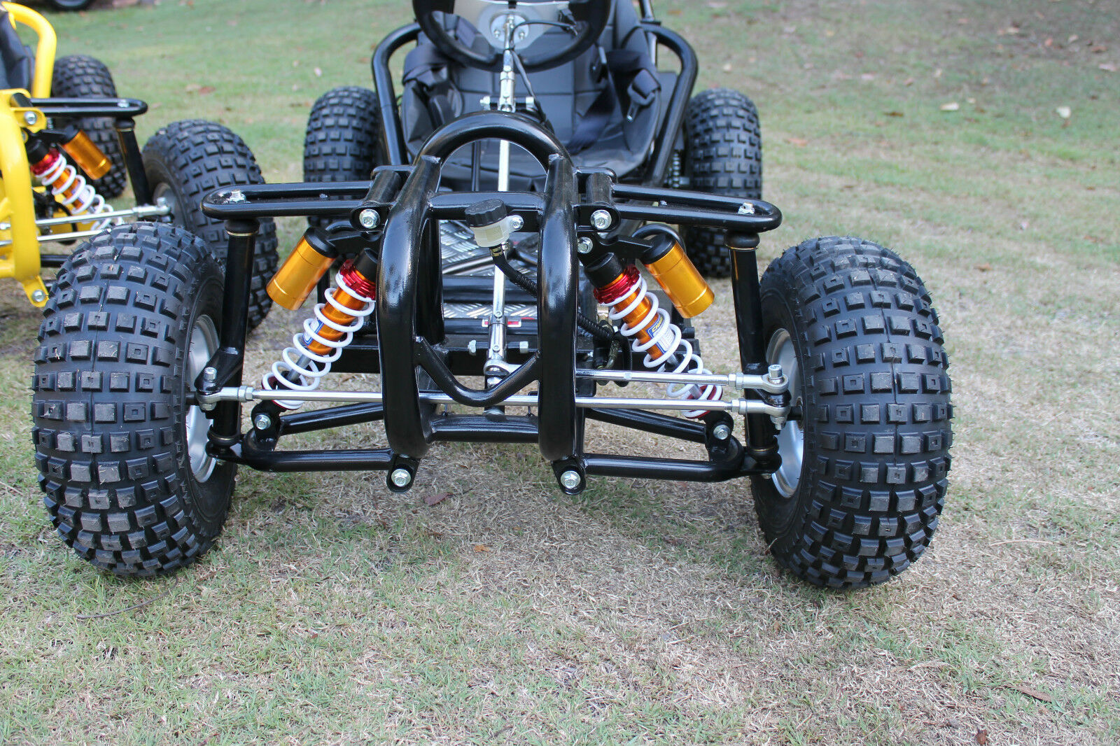 how to make a off road go kart frame