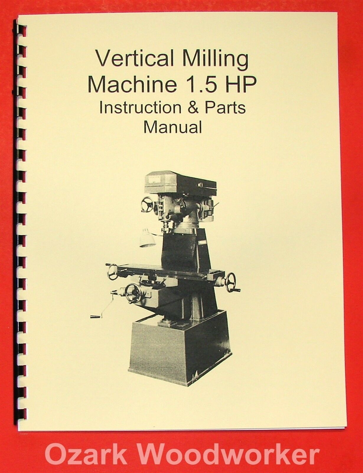 15hp Vertical Mill Manual Jet Enco Grizzly Msc Asian 0001 Lathe Wiring Diagram 1 Of 1free Shipping