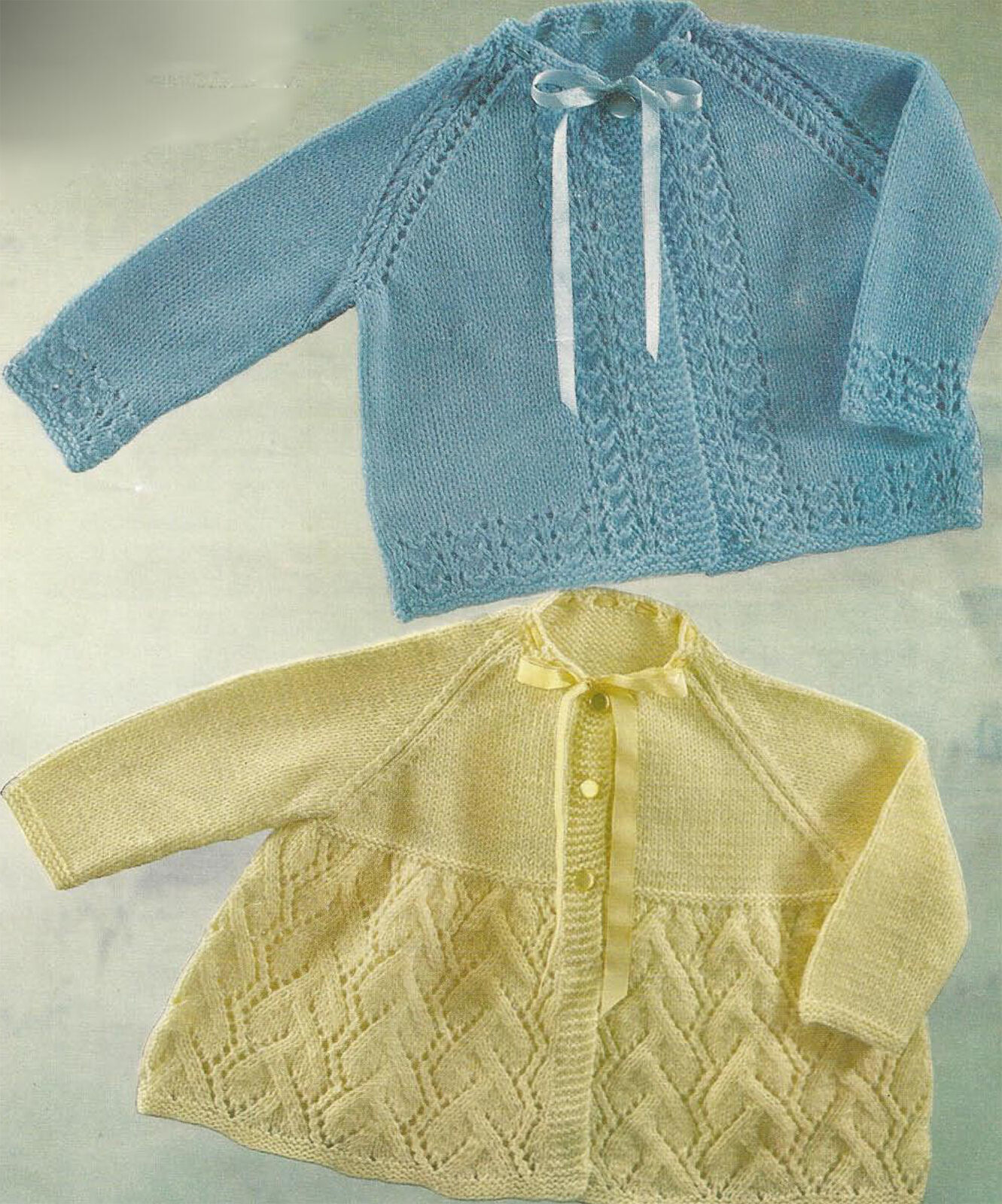Knitting Pattern Baby Chest Sizes : Baby Matinee Coats Knitting Pattern 18 To 20 Inch Chest (134)   ?0.99 - PicCl...