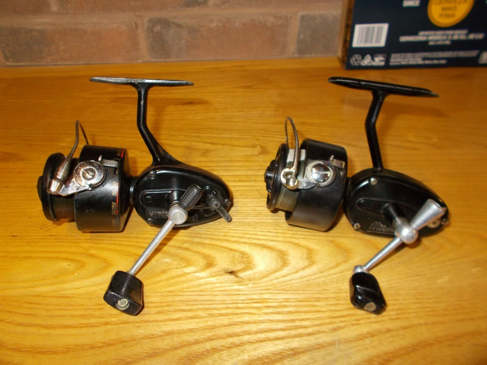 2 vintage fishing reels mitchell 300 300a for Old mitchell fishing reels