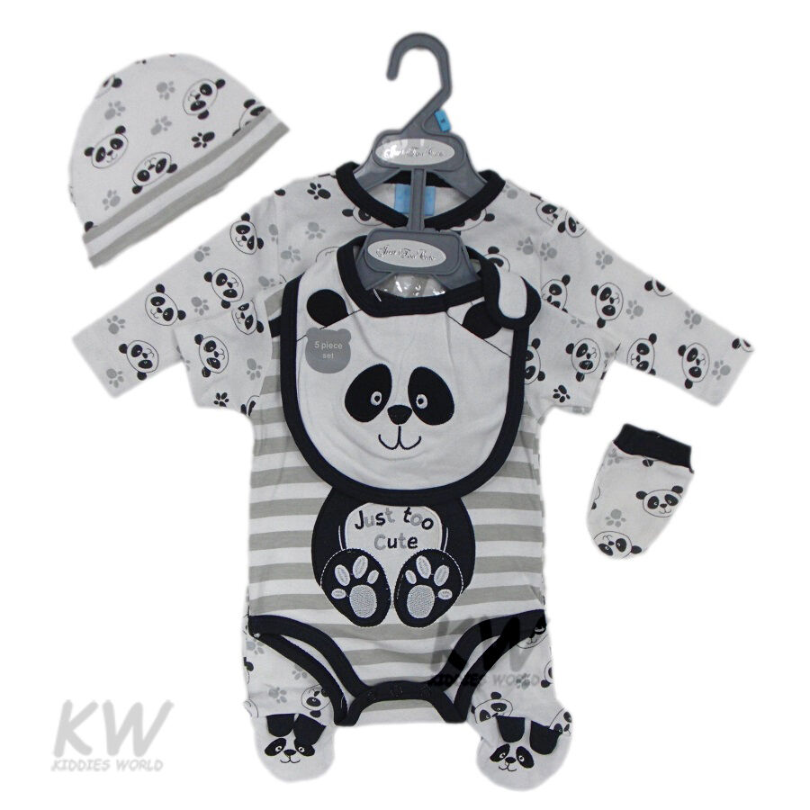 Neutral Baby Gifts Ireland : Baby clothes piece gift set neutral boy girl layette