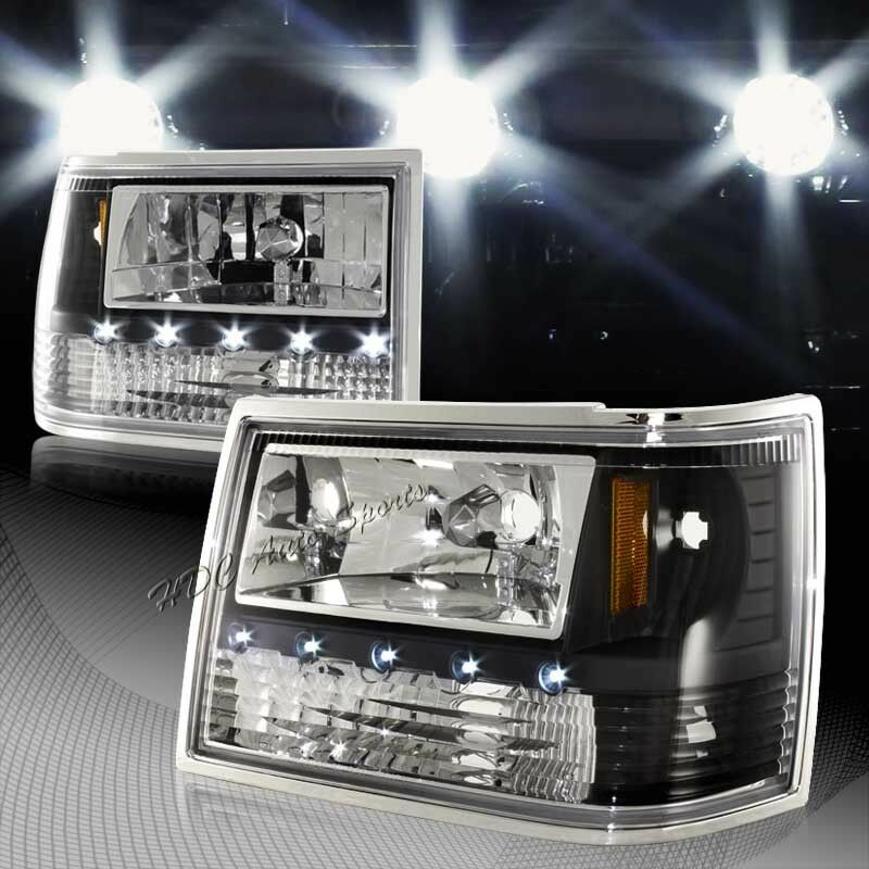 For Jeep Grand Cherokee All In 1 Black Housing LED HeadLights + Bumper +  Corner 1 Of 4Only 0 Available ...