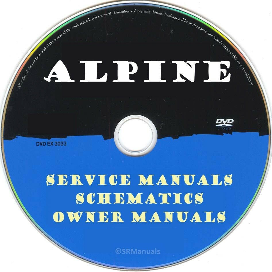 Alpine Hifi Service Manuals Schematics Pdfs On Dvd Huge Cva 1005 Wiring Diagram 1 Of 1only Available