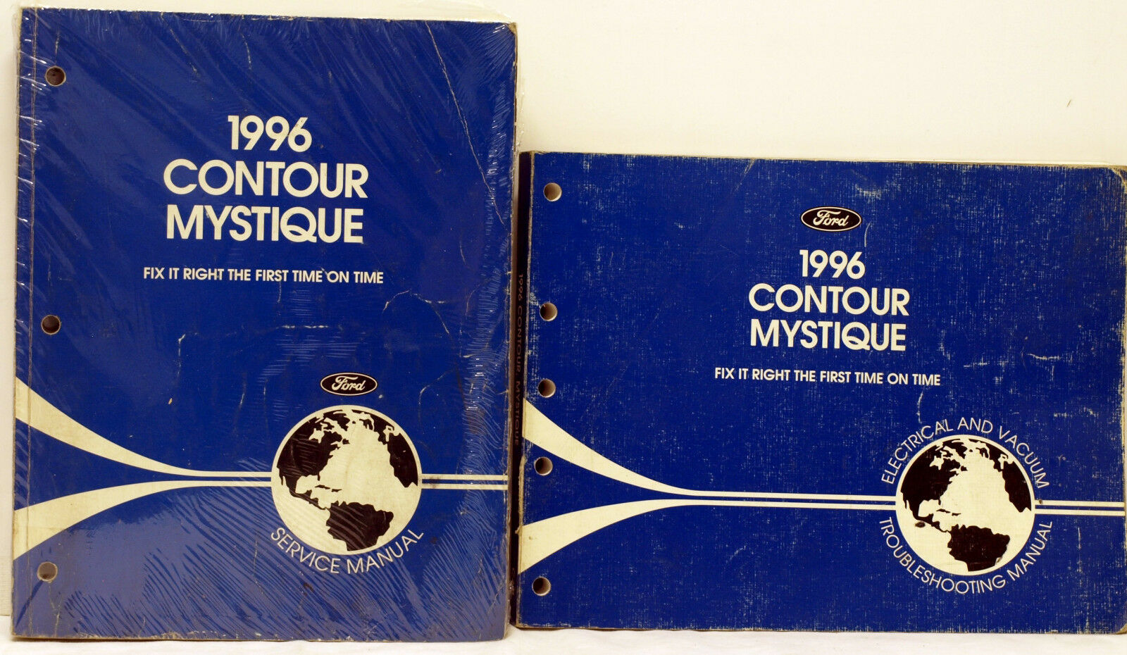 OEM 1996 Ford Contour / Mercury Mystique Service Manual & EVT Manual 1 of  3Only 1 available ...