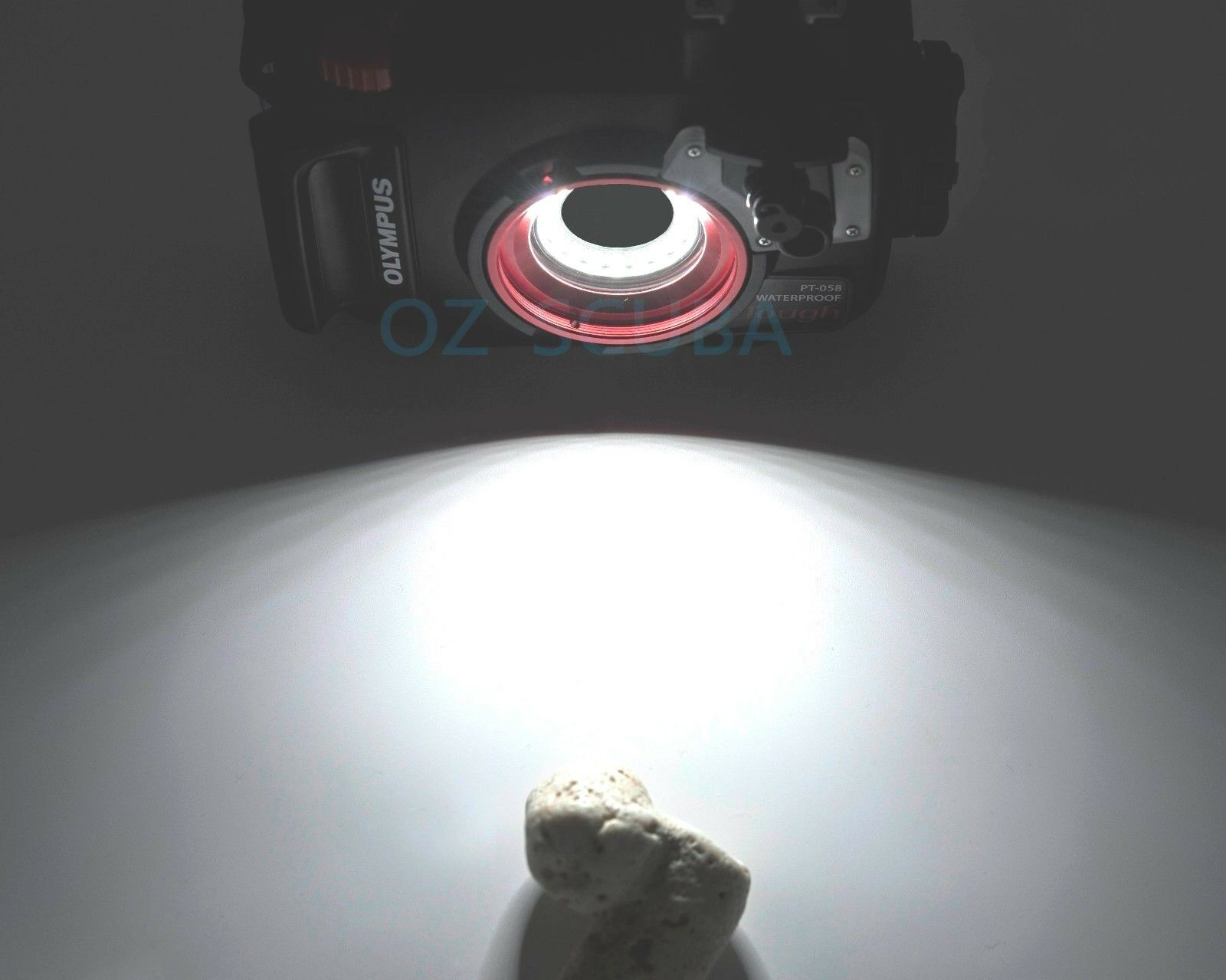 Olympus Tg 5 Pt 058 Underwater Housing Marco Led Ring Light New Tough Black Kamera Version 1 Of 11only 3 Available