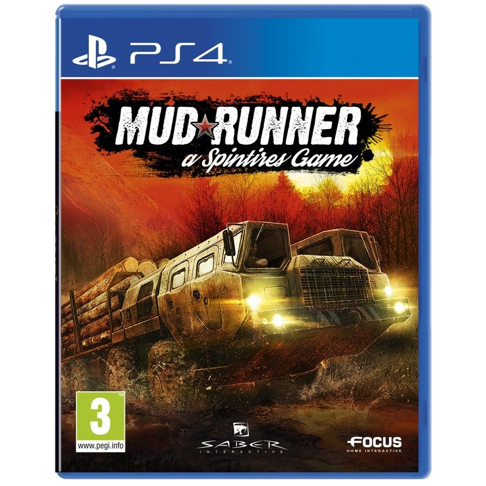 spintires mudrunner ps4 game picclick uk. Black Bedroom Furniture Sets. Home Design Ideas