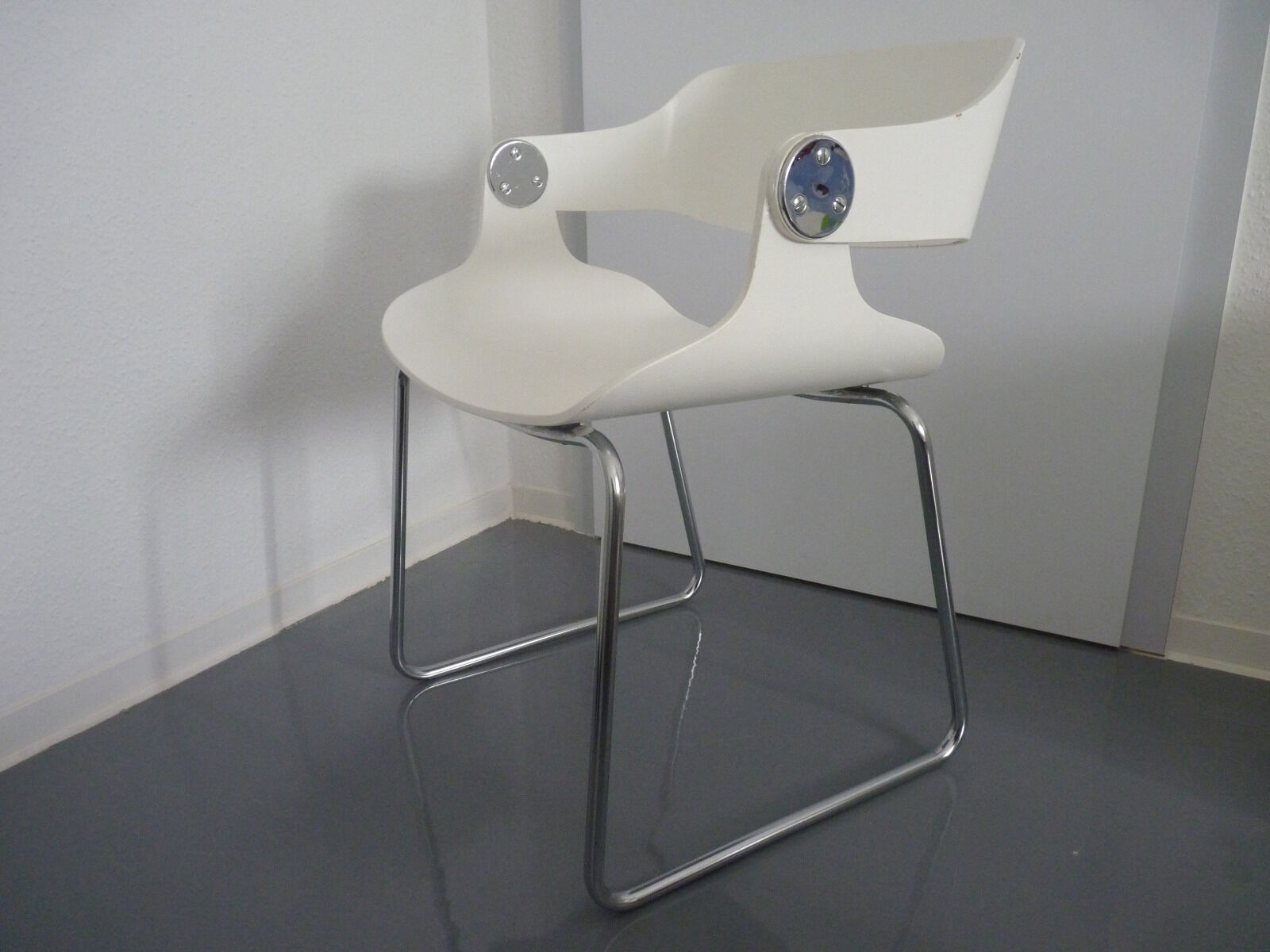 Eugen schmidt stuhl set schichtholz chair design 60er 70er for Stuhl design 60er