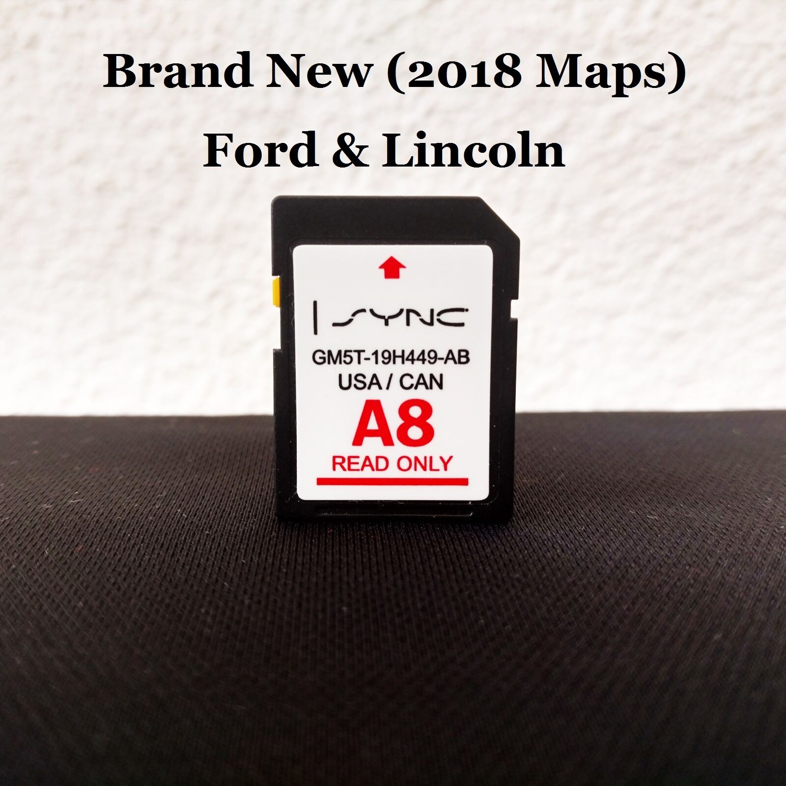 a8 2018 map update navigation sd card sync fits all ford. Black Bedroom Furniture Sets. Home Design Ideas