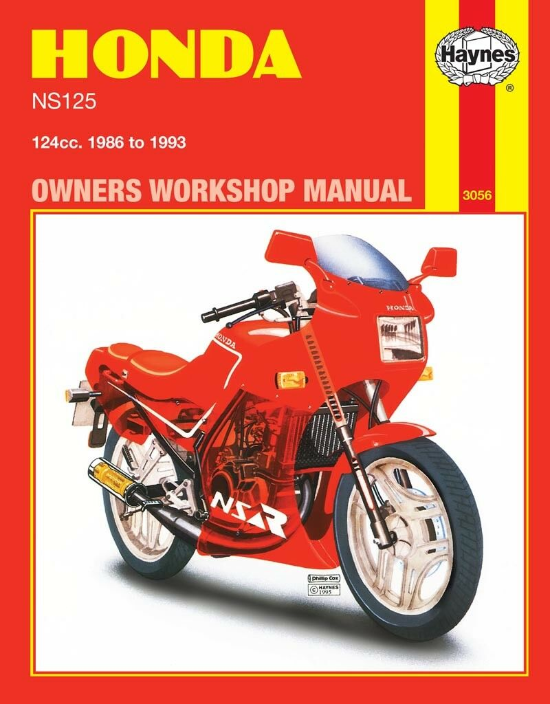 3056 Haynes Honda Ns125 1986 1993 Workshop Manual 1450 Cb125s Chilton Electrical Wiring Diagram 1 Of 1free Shipping