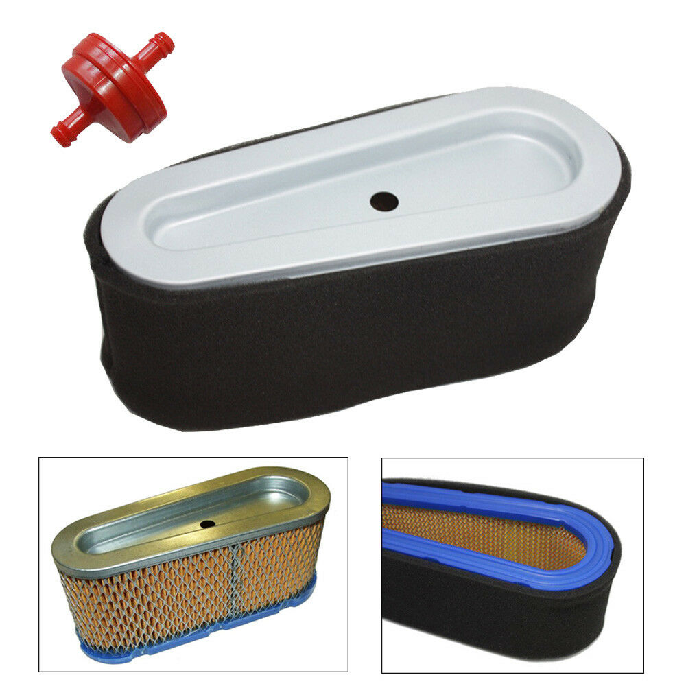 New Air Filter Fuel Kit For Ride On Mower Briggs And 2000 Ml320 1 Of 8only 5 Available