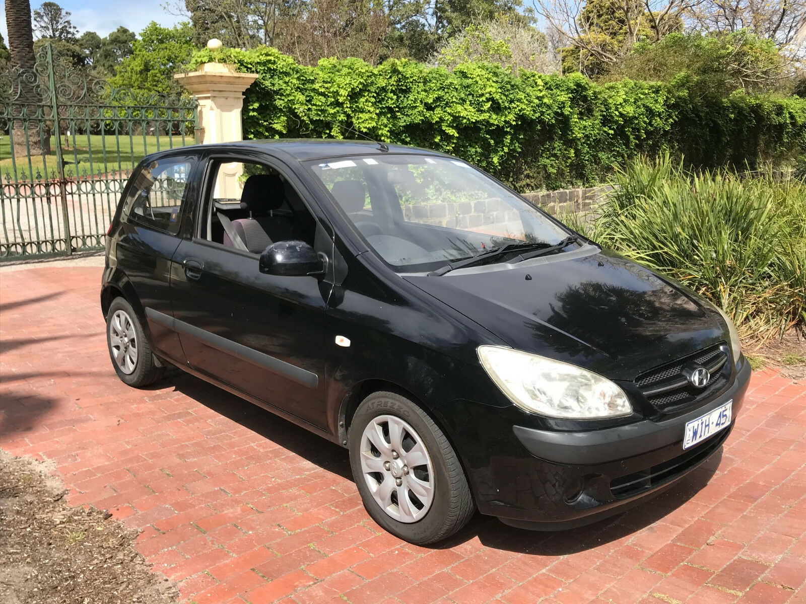 2006 hyundai getz 5 speed manual unreserved aud picclick au. Black Bedroom Furniture Sets. Home Design Ideas