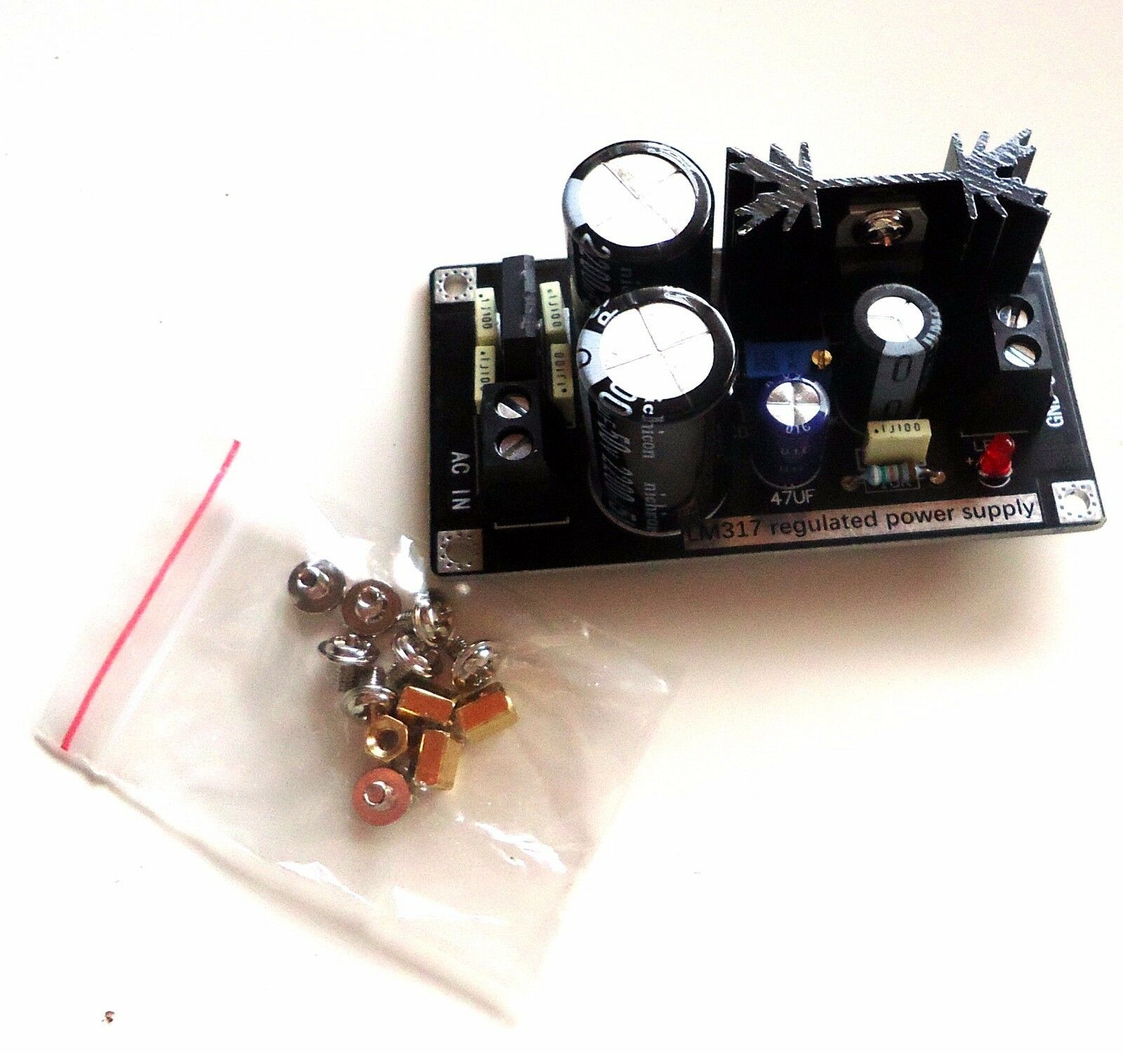 Dc Ac Lm317 Adjustable Voltage Regulator Step Down Power Supply 1 Of See More