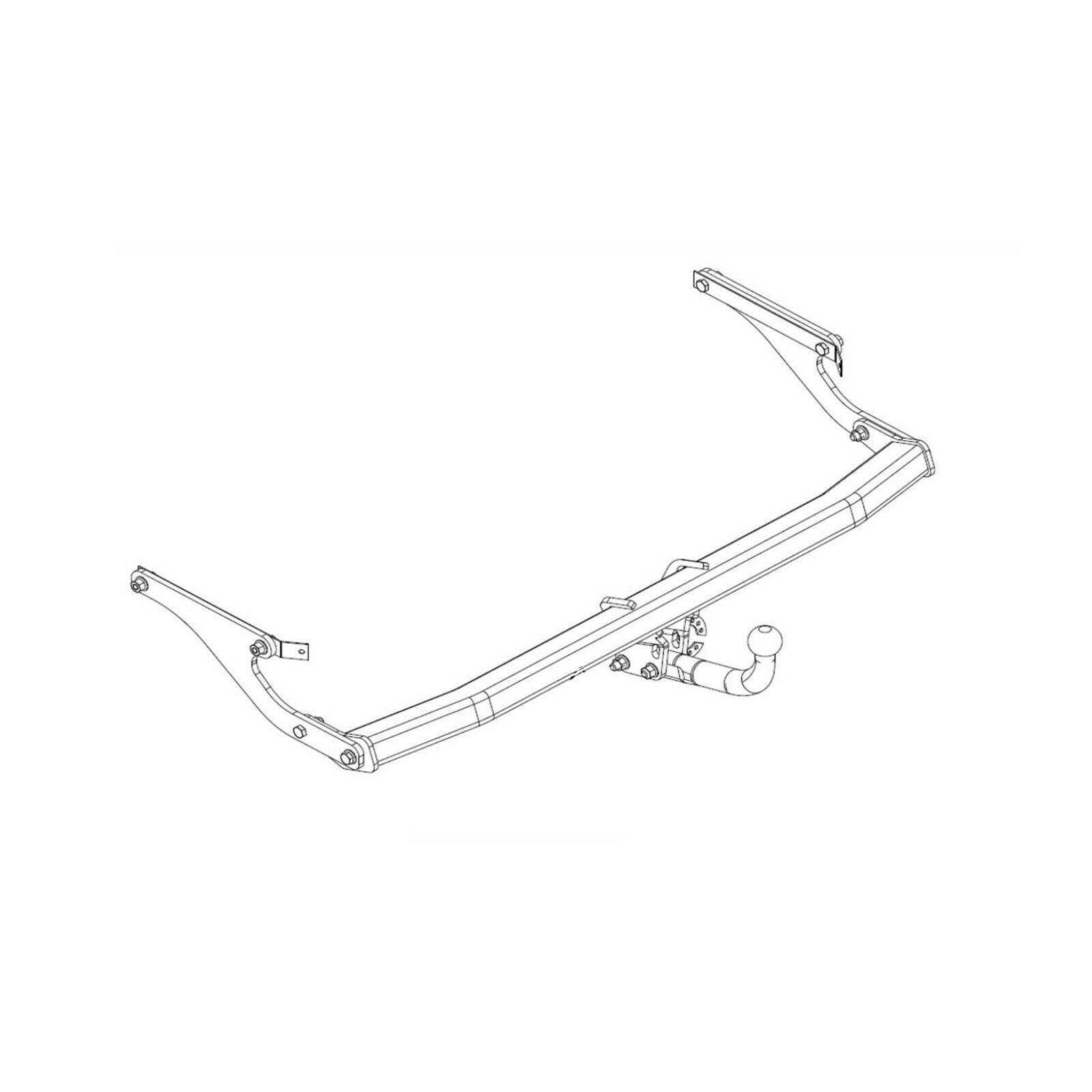 Westfalia Towbar For Renault Espace 2015 On Swan Neck Tow Bar Wiring Diagram 1 Of 2free Shipping