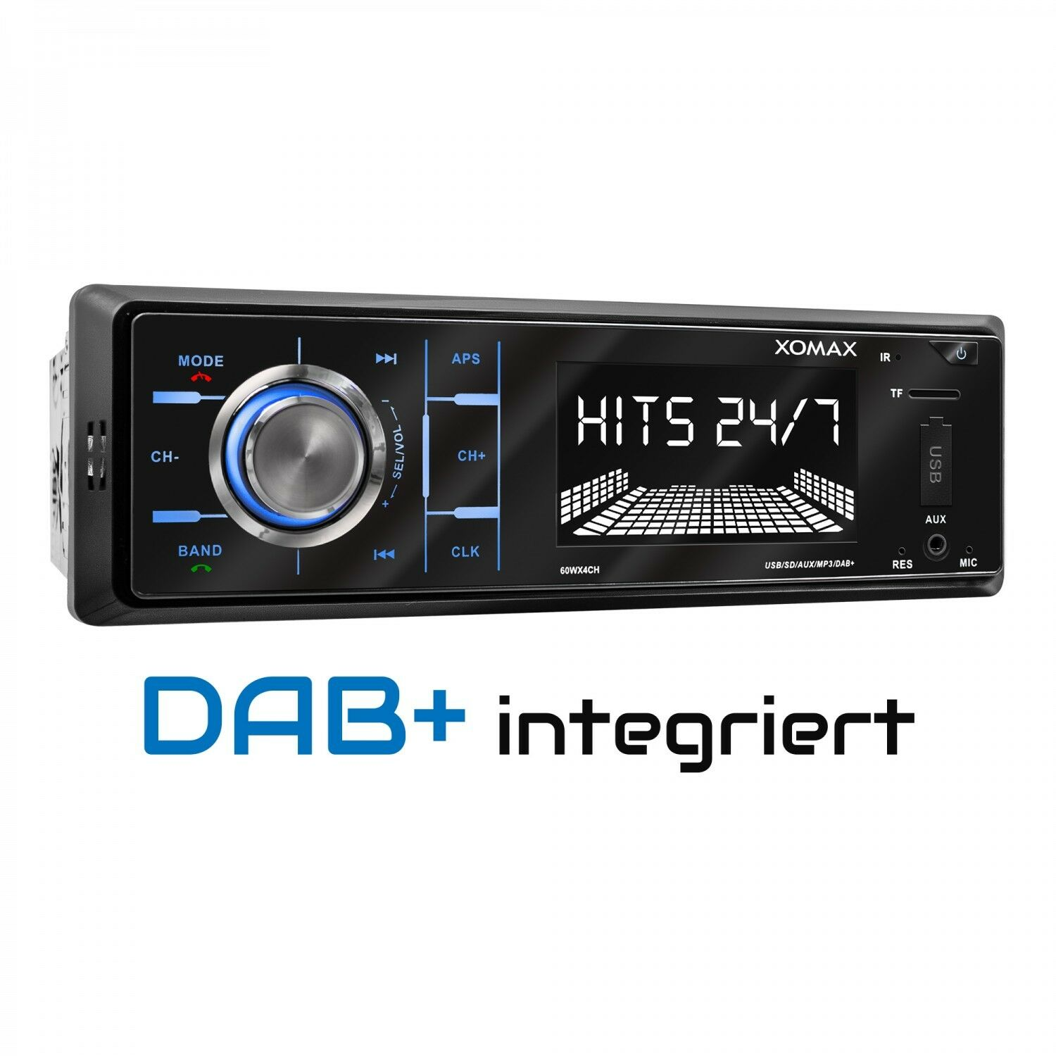 dab autoradio rds am fm bluetooth freisprecheinrichtung. Black Bedroom Furniture Sets. Home Design Ideas