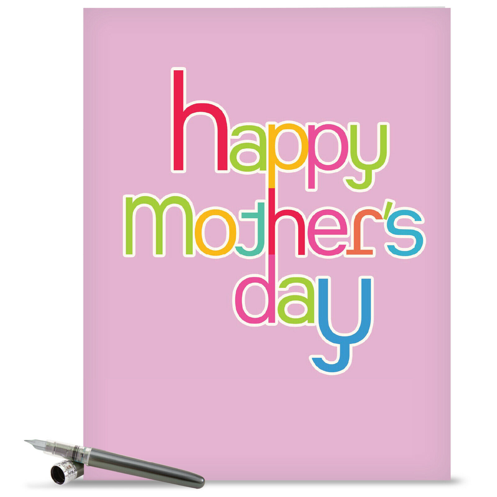 J2363kmdg Jumbo Mothers Day Card Hipster Mothers Day Greeting