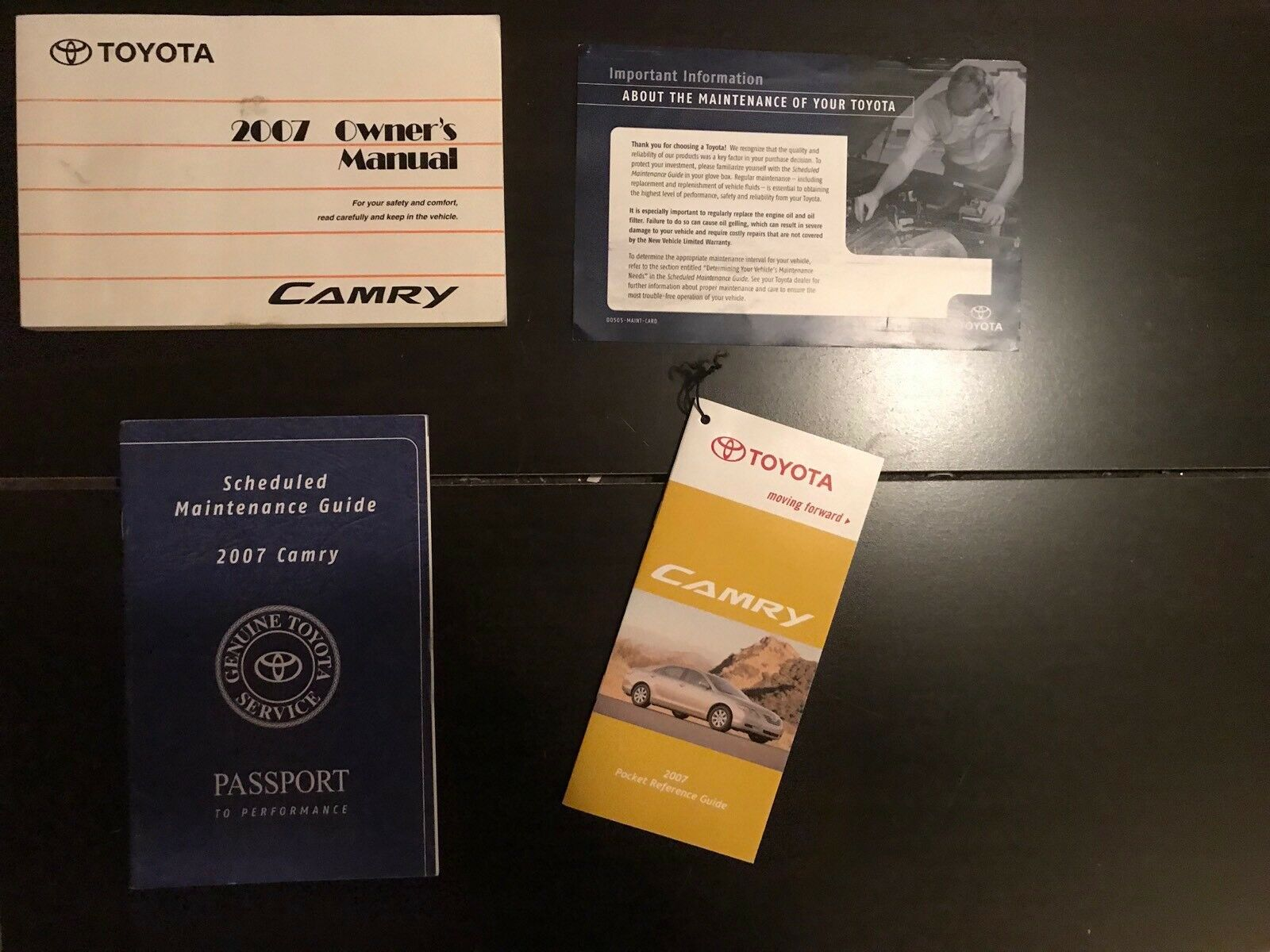 2007 Toyota Camry Owners Manual OEM Free Shipping 1 of 1Only 1 available ...