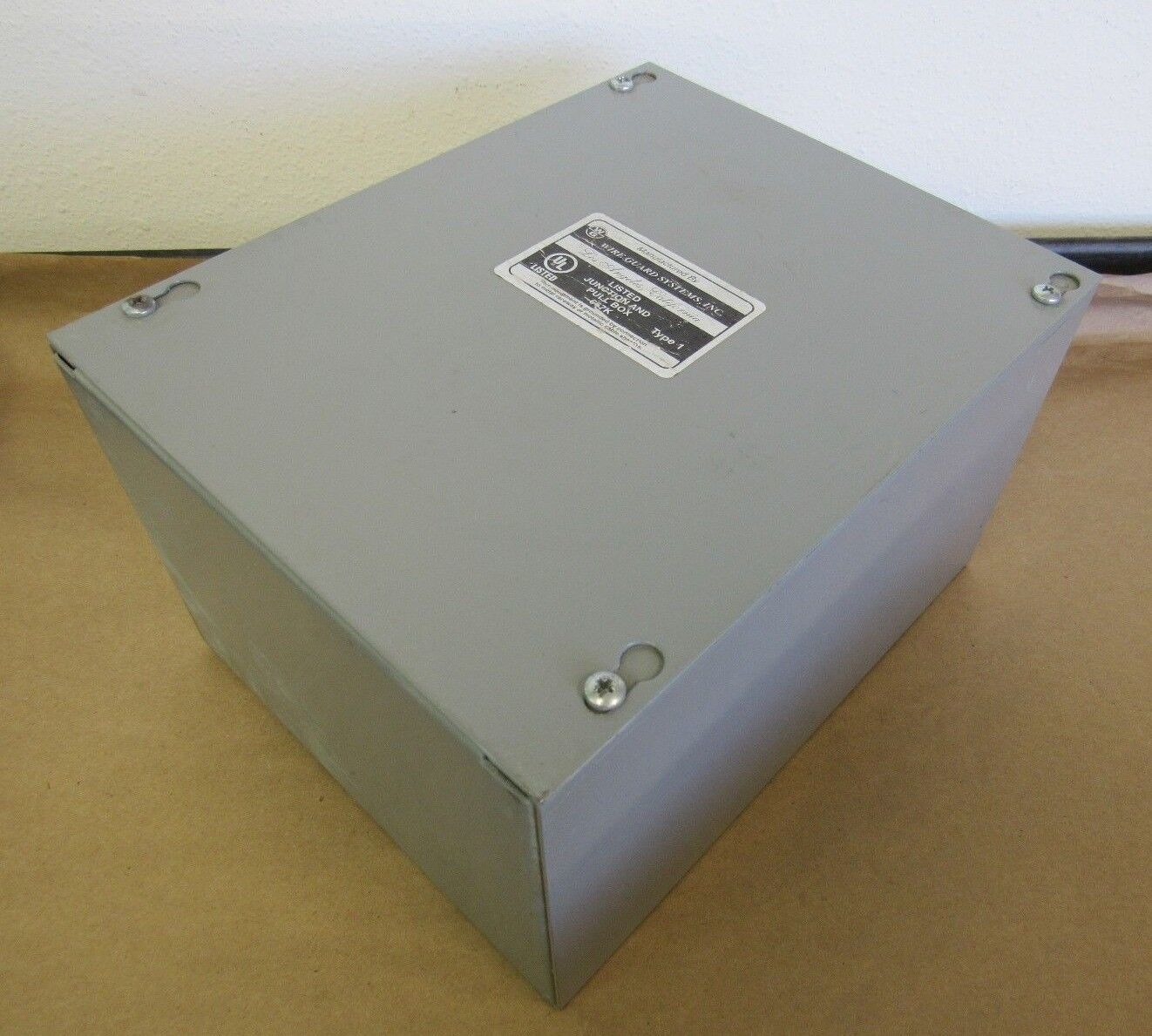 WIRE GUARD SYSTEMS Junction And Pull Box 667K Type 1, 10X8X6, Free ...