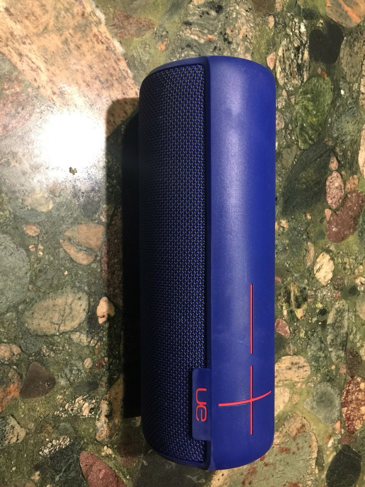 Logitech Ue Megaboom Electric Blue Wireless Bluetooth 360 Surround Ultimate Ears Plum Speaker 1 Of 5only Available