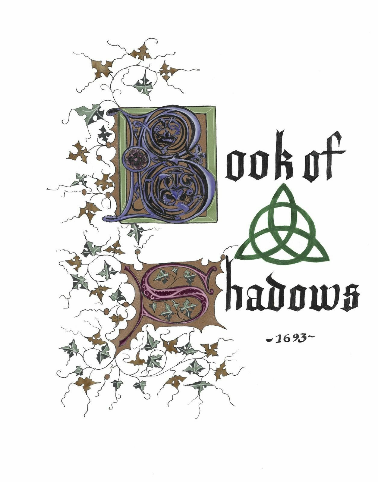 charmed book of shadows replica pages 2000 downloadable