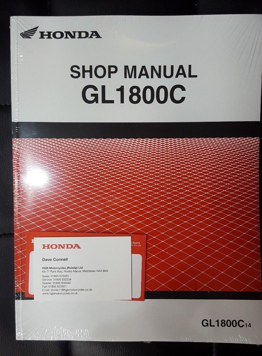 Genuine Oem Honda 2018 Gl1800 20014 Valkyrie Motorcycle Mechanic Repair Information Shop Manual 1 Of 2only 4 Available See More