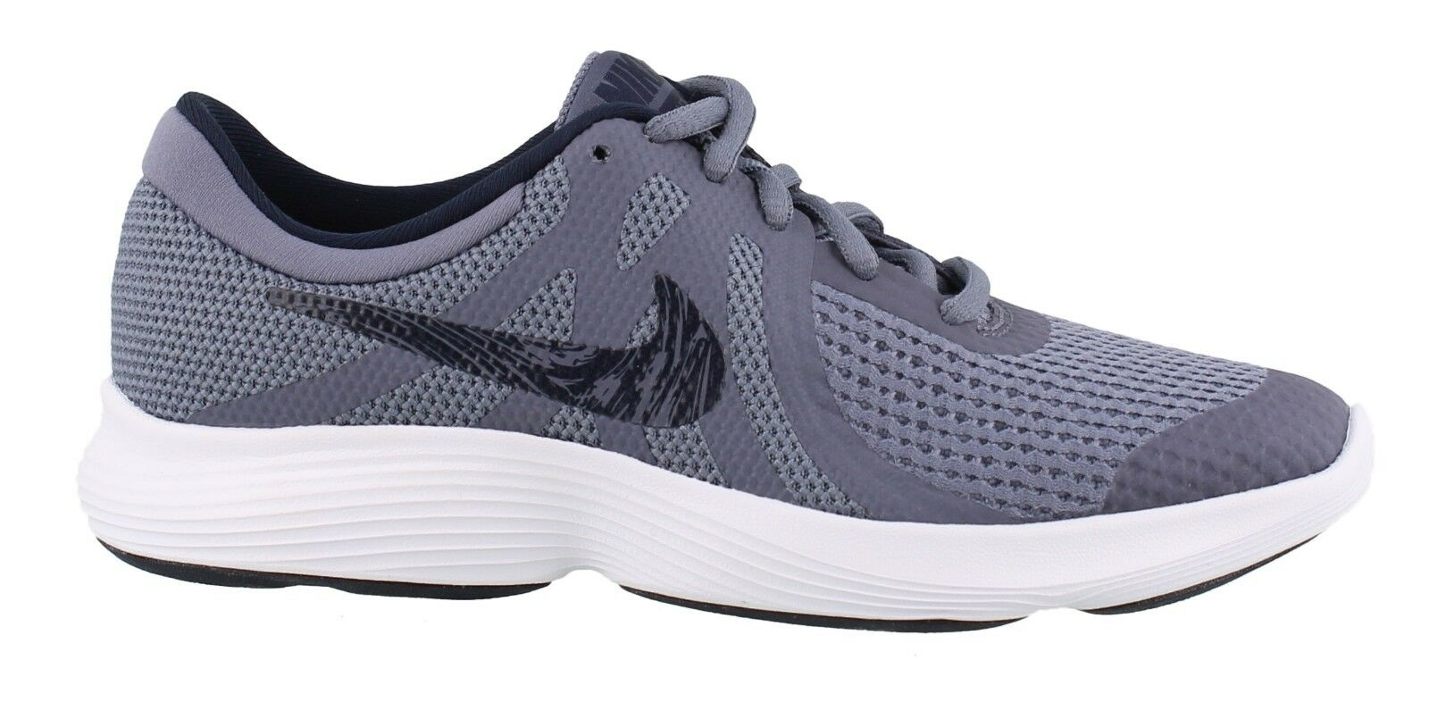 Nike Revolution 4 ( GS ) Light Carbon   Obsidian Style   943309-008 1 of  1Only 4 available ... f3fb373b9