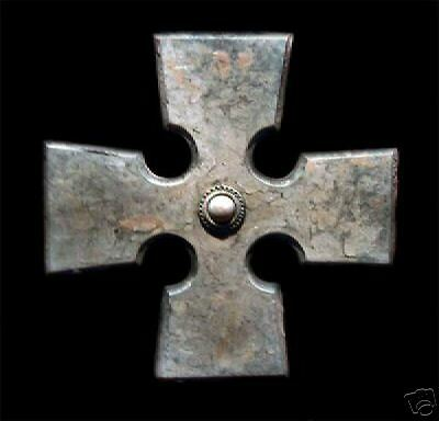 Antique Celtic Stone Cross wall home art decor accent