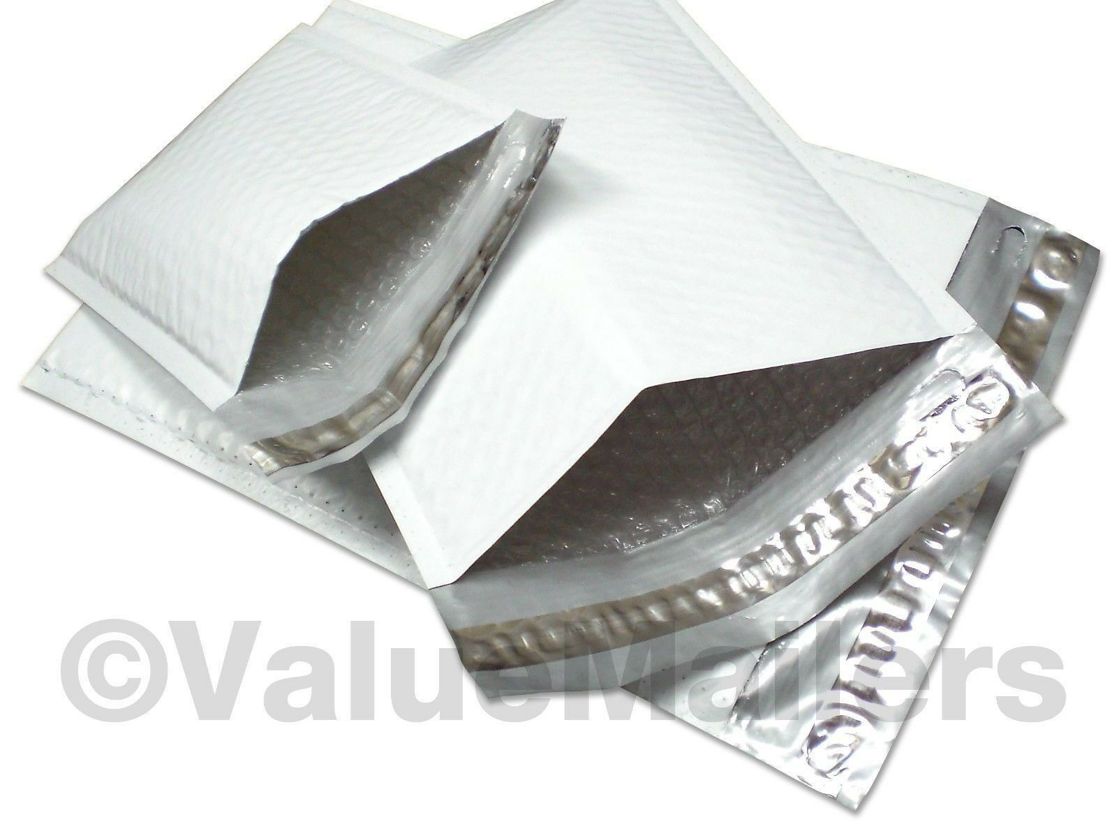 #2 100 8.5x12 VMAJ Poly Bubble Mailers Plastic Padded Envelopes Shipping Bags