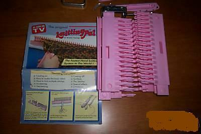 Knitting Pal Loom Walter Palange Antique Loom Knit fast
