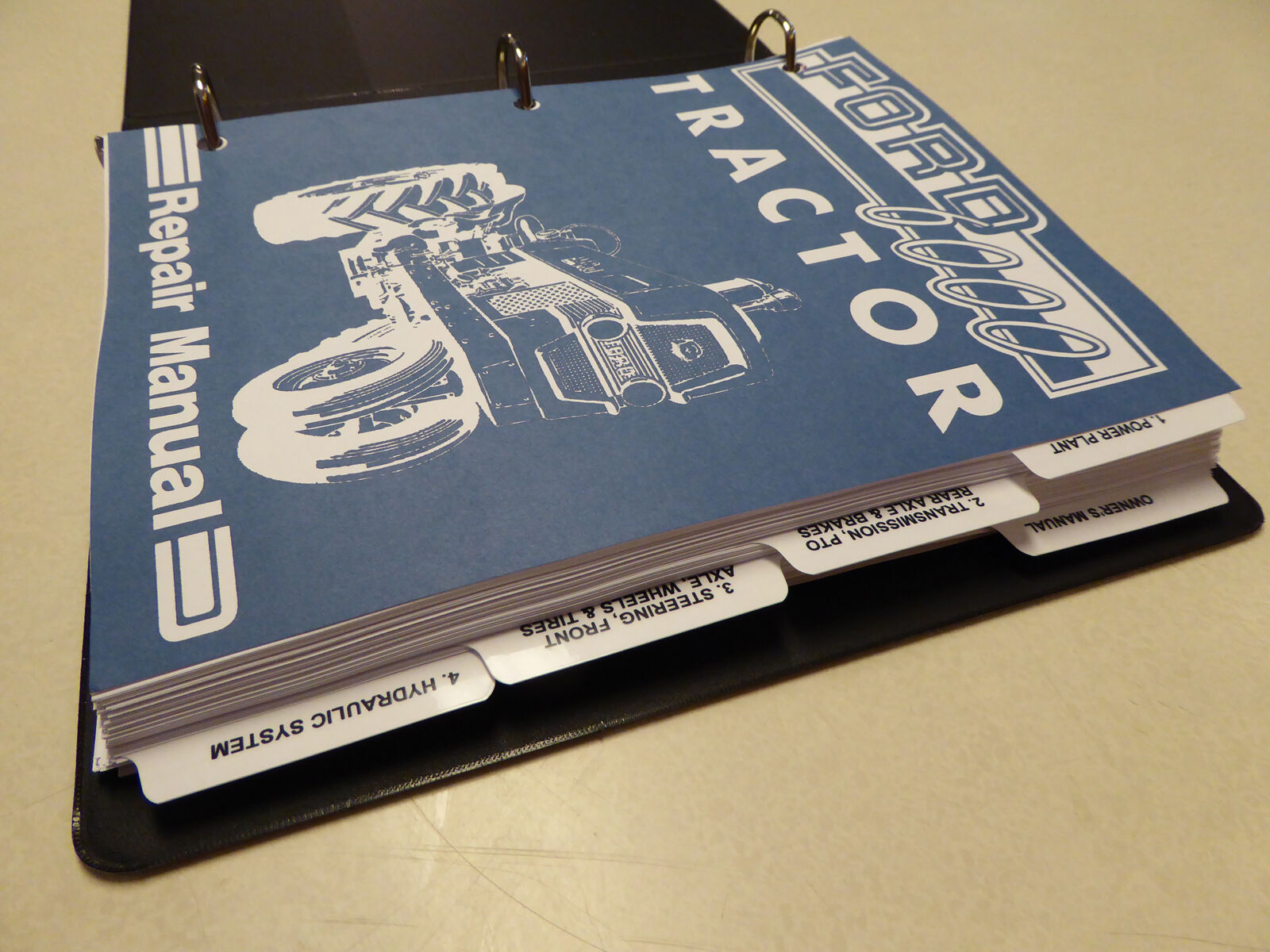 1 of 12Only 2 available Ford 6000 Tractor Service Manual Repair Shop Book &  Owners/Operators ...