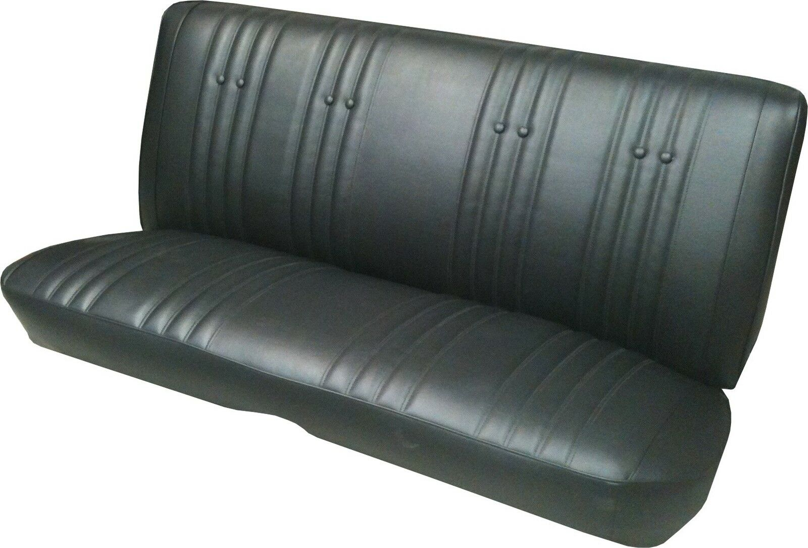 Seat Skins For Trucks >> 1966 66 CHEVY IMPALA REAR SEAT COVER UPHOLSTERY coupe • $206.95 - PicClick