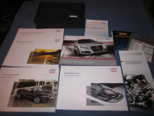 2010 audi a5 cabriolet owners manual a 5 set navigation 145 75 rh picclick com 2010 audi a5 owners manual pdf 2010 audi s5 owners manual pdf