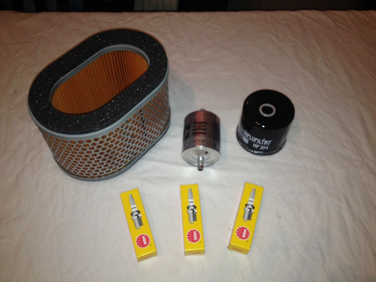 Triumph Sprint St 955i Service Kit Oil Filter Air Fuel 2003 Thunderbird 1 Of See More