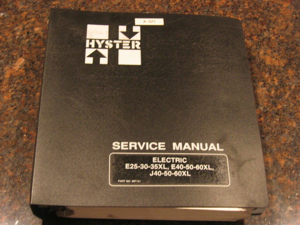 Hyster He50 Forklift Service Manual | 2019 Ebook Library