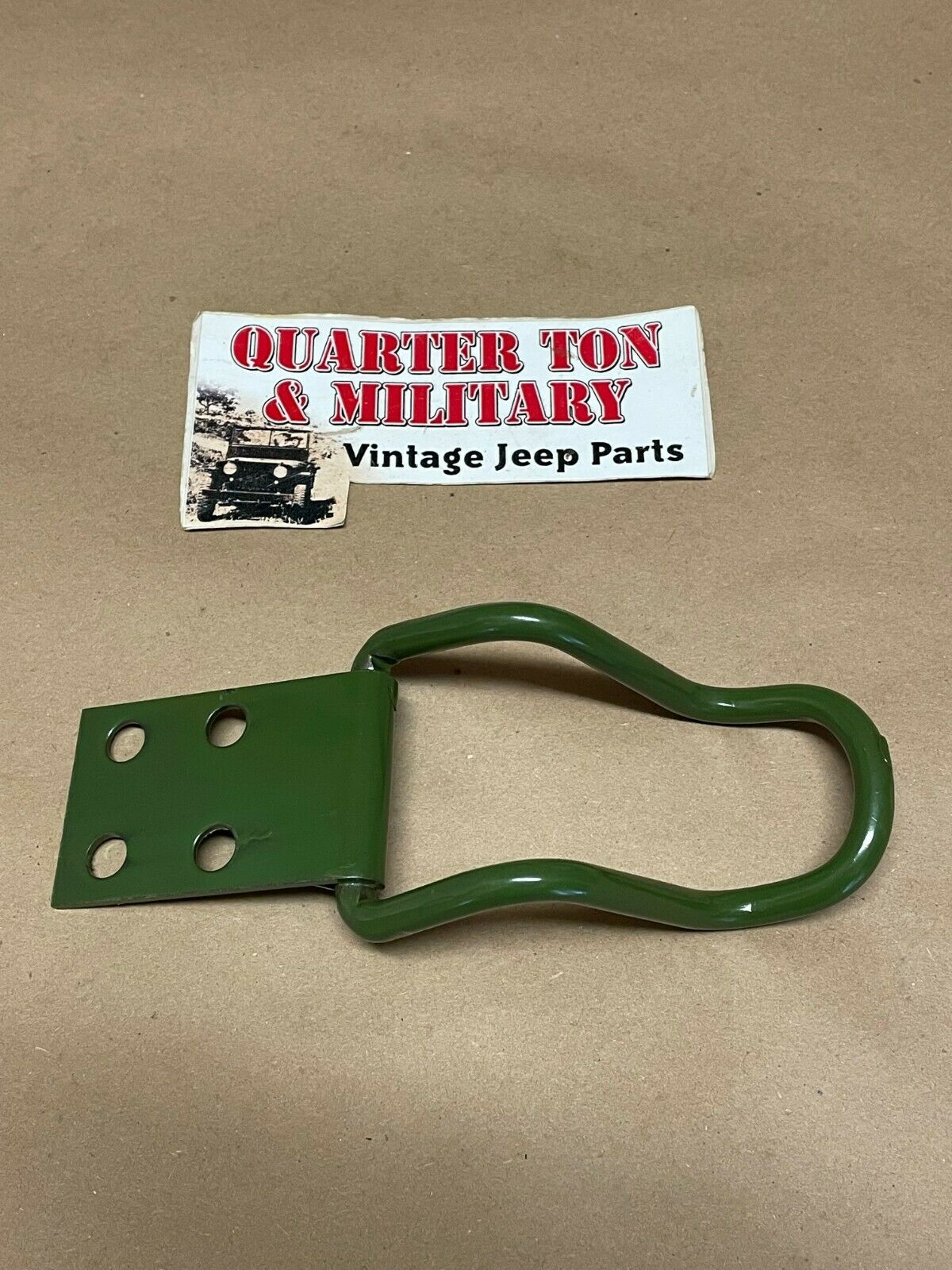 Jeep Willys Mb Gpw M38 Axe Head Hinge Bracket Clamp Rear Mount Hinged Clamps Wiring Harness 1 Of See More