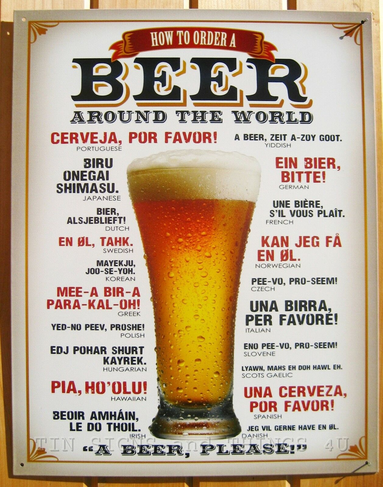 ... bar pub beer signs free tequila wood or metal personalized sign
