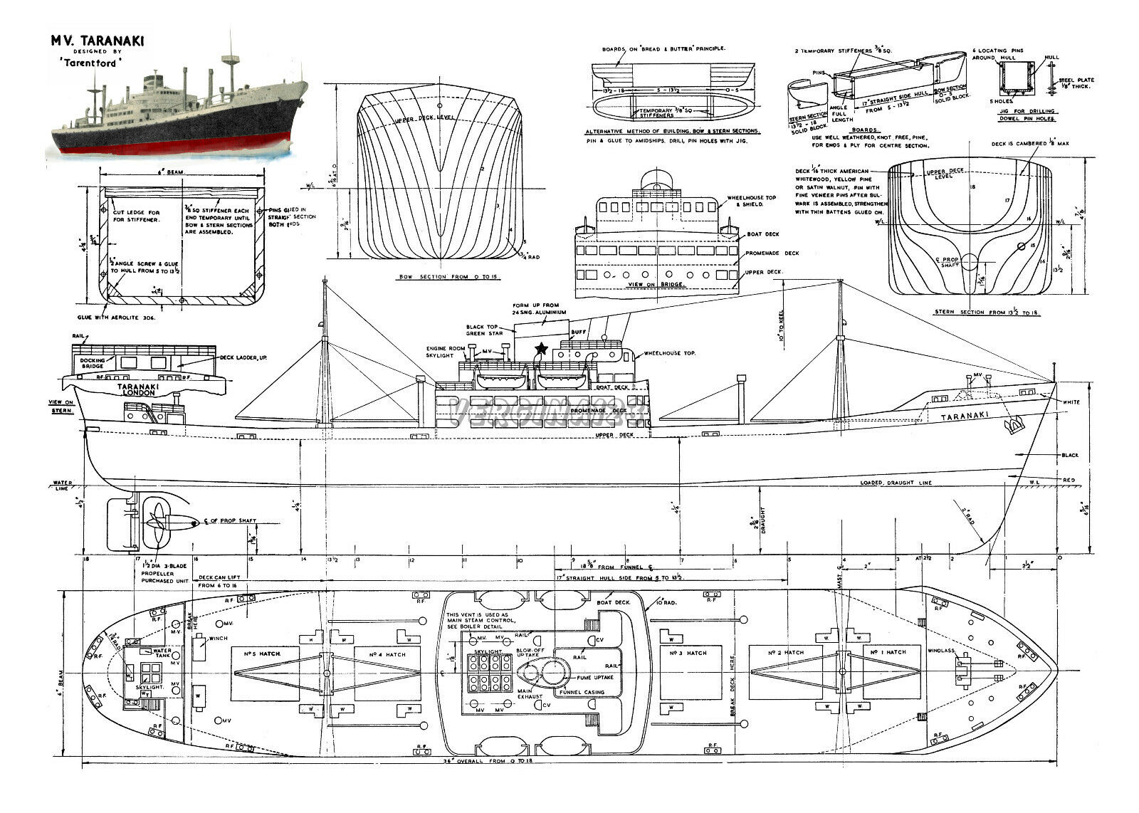 Free Model Boat Plans Rc - Small Boat Building Plans