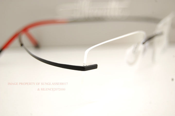 brand new silhouette eyeglass frames tma icon 7772 6058 blackred 7581 men women brand new silhouette eyeglass frames tma icon 7772 6058 blackred 7581 men