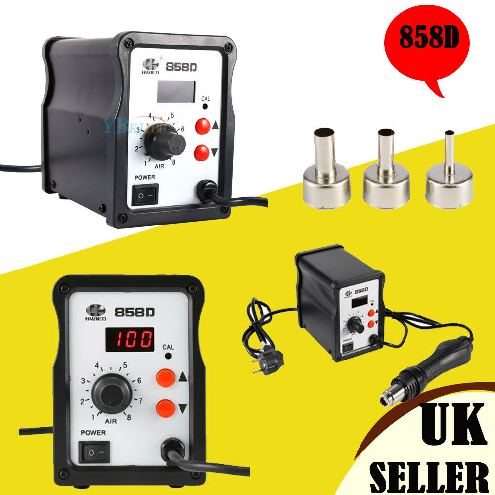 how to use hot air soldering station